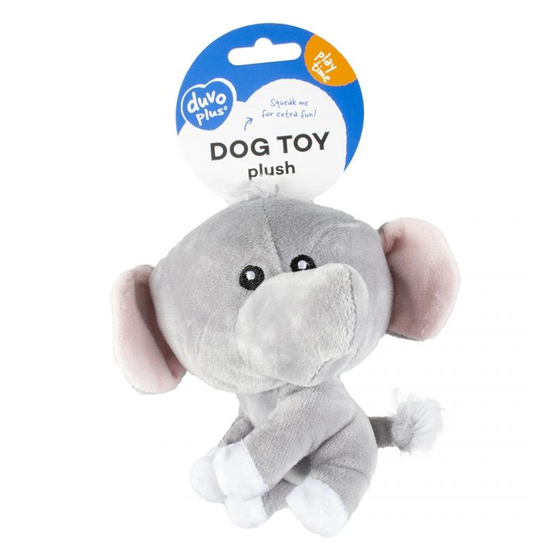 Мягкая игрушка для собак Duvo+ Мини Слон,
