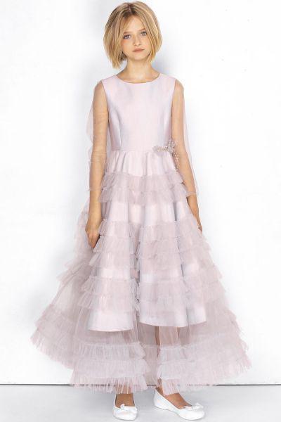 Купить 29526-946, Платье Noble People цв. розовый р.140,