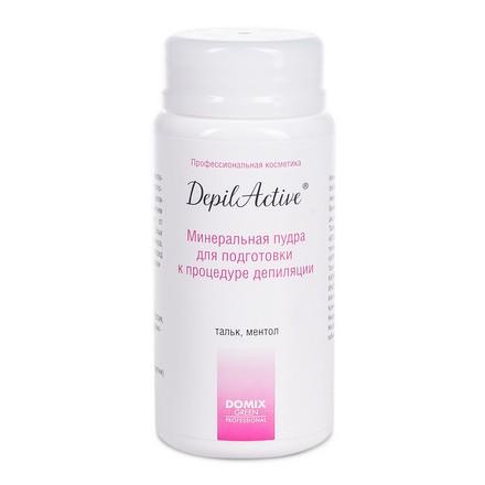 Купить Минеральная пудра для подготовки к депиляции Domix, DepilActive, с ментолом, 50 г, Domix Green Professional
