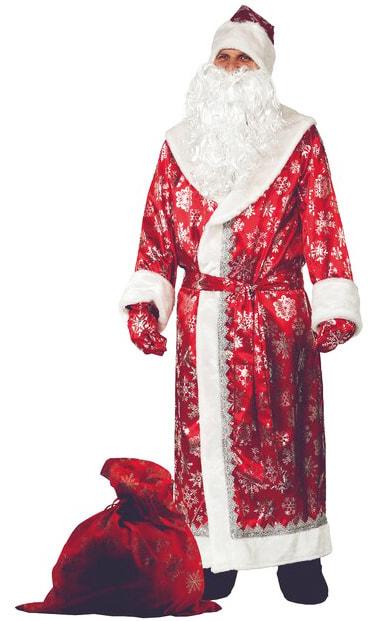 Костюм Батик Дед Мороз   Красный
