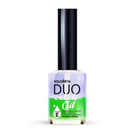 Купить Масло для кутикулы и ногтей Solomeya, Duo «Зеленое яблоко», 12 мл