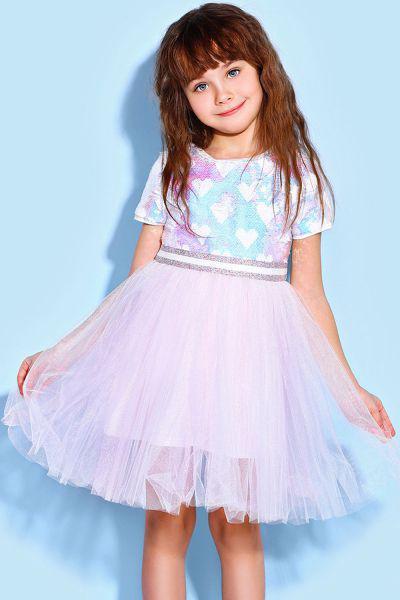 Купить 29526-1055, Платье Noble People цв. розовый р.104,