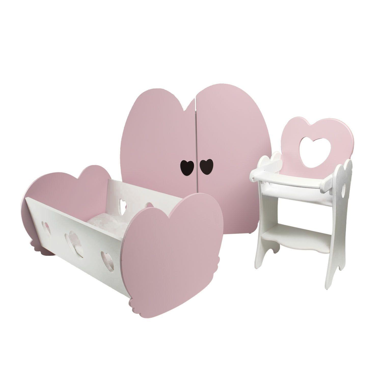 Набор Мини кукольной мебели PAREMO PFD120-21M, 3 предмета