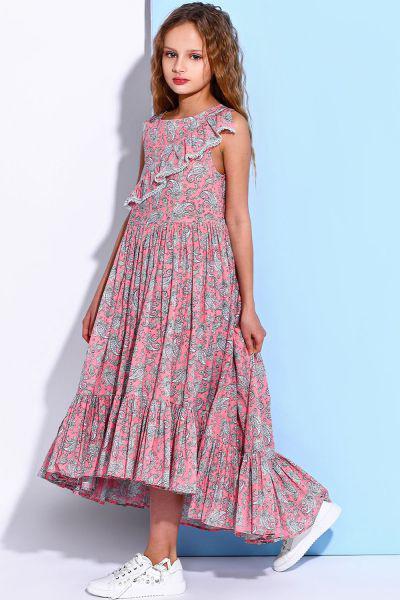 Купить 29526-1017, Платье Noble People цв. розовый р.128,