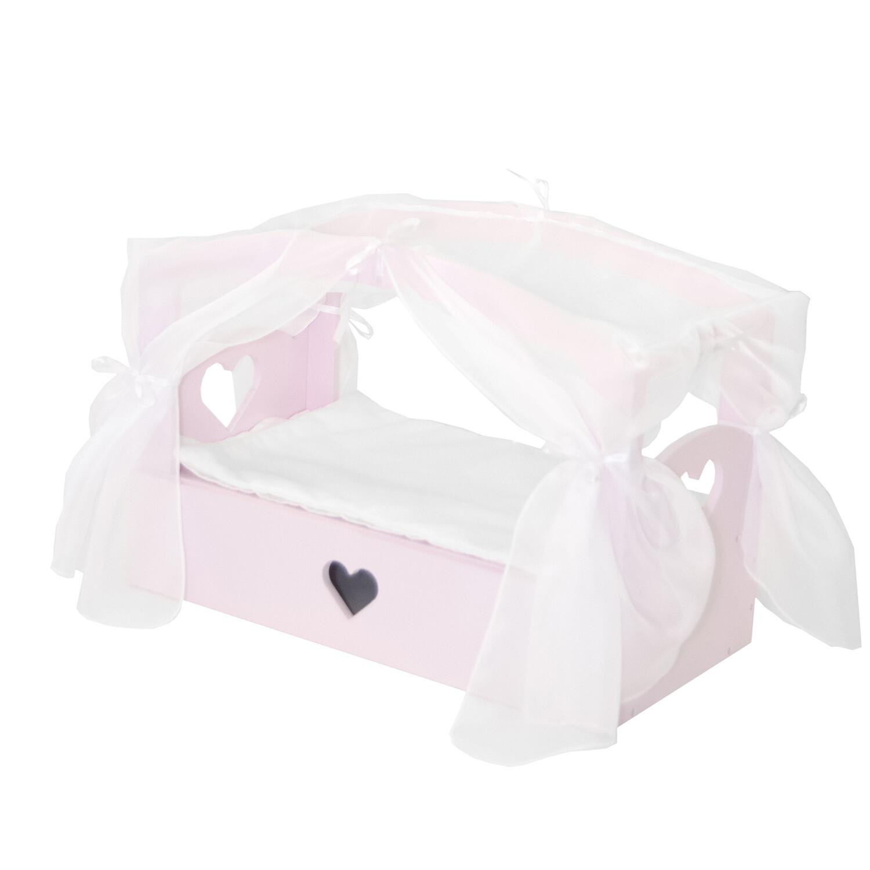 Кроватка PAREMO с бельевым ящиком Любимая кукла, Мини Мия