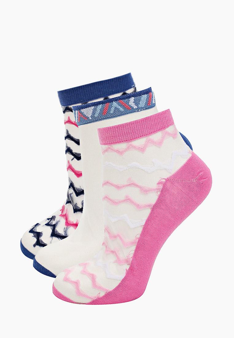 Комплект капроновых носков женский АЙАС 117-140-20 прозрачный 25