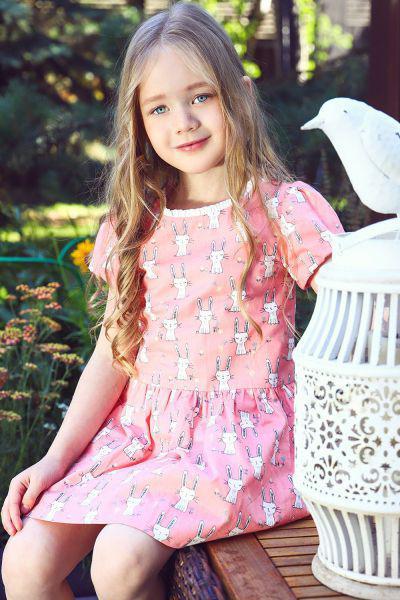 Купить 29526-1010, Платье Noble People цв. розовый р.116,