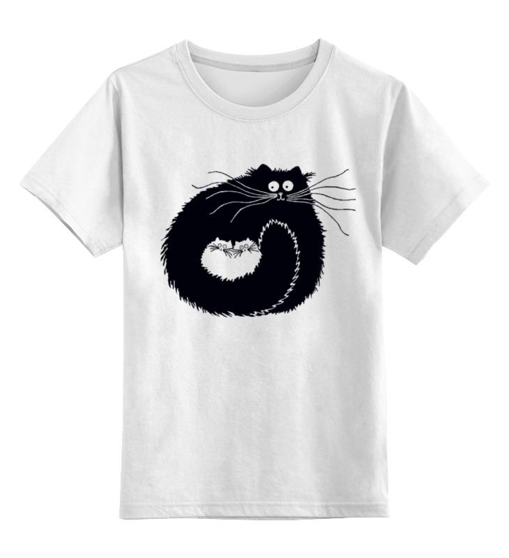 Детская футболка Printio Котэ-сумка цв.белый р.116 0000000772527 по цене 790