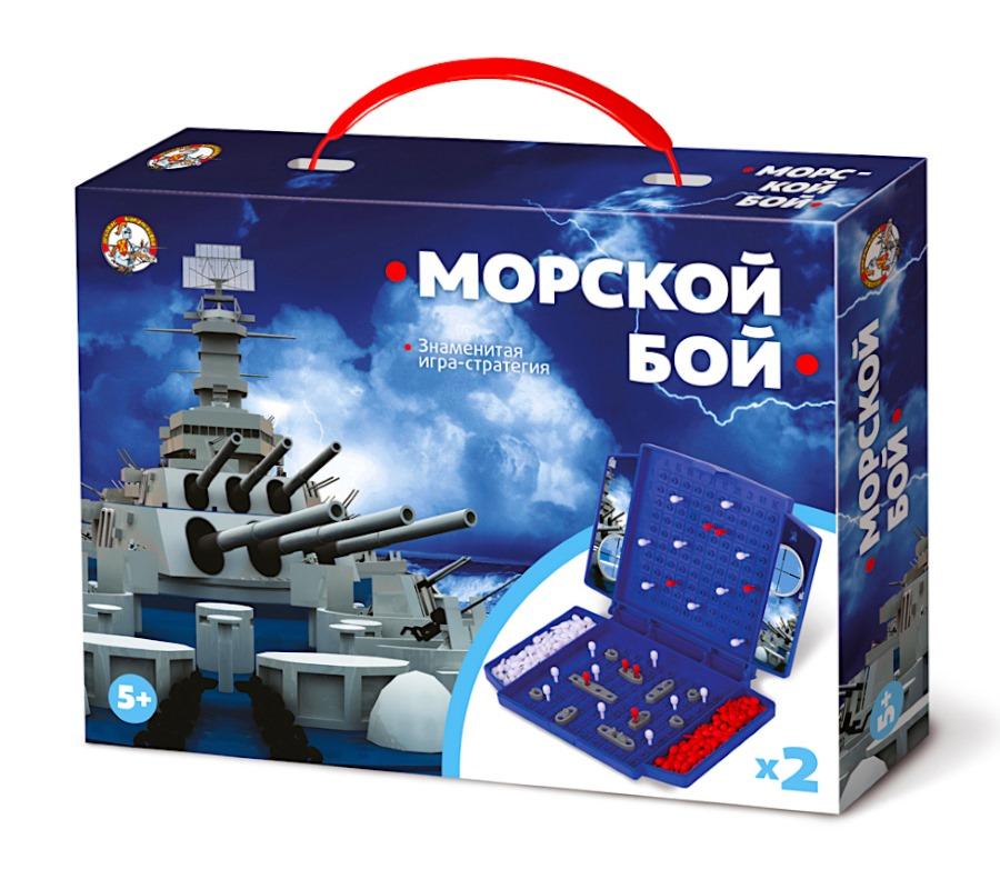 Игра настольная Десятое Королевство Морской бой мини
