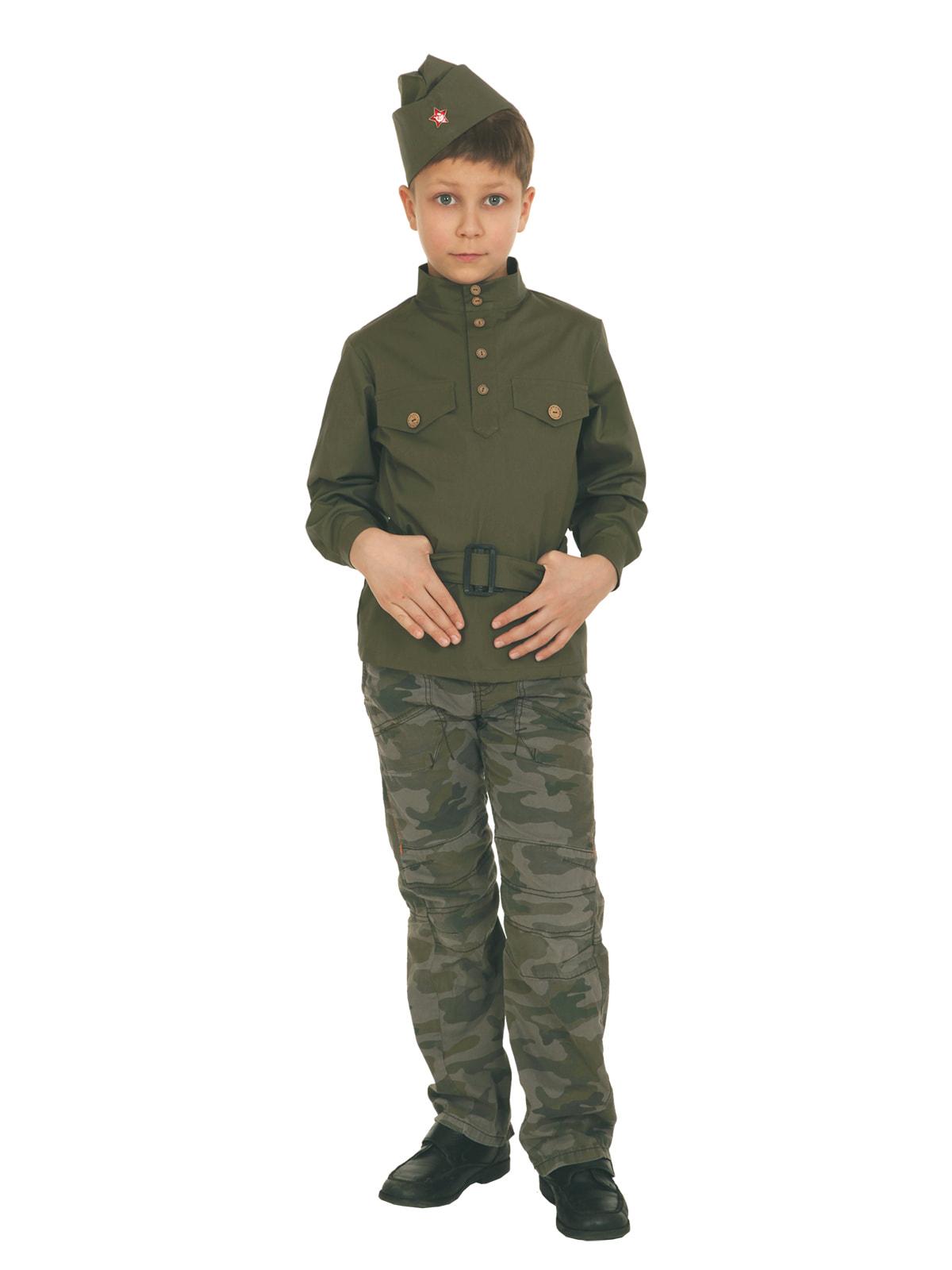 Костюм Вестифика Гимнастерка Детский 140-146 см v8001