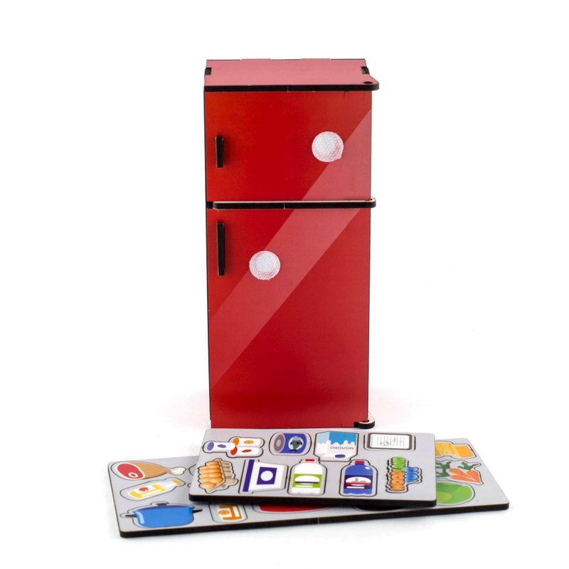 Сортер Холодильник Красный Woodland