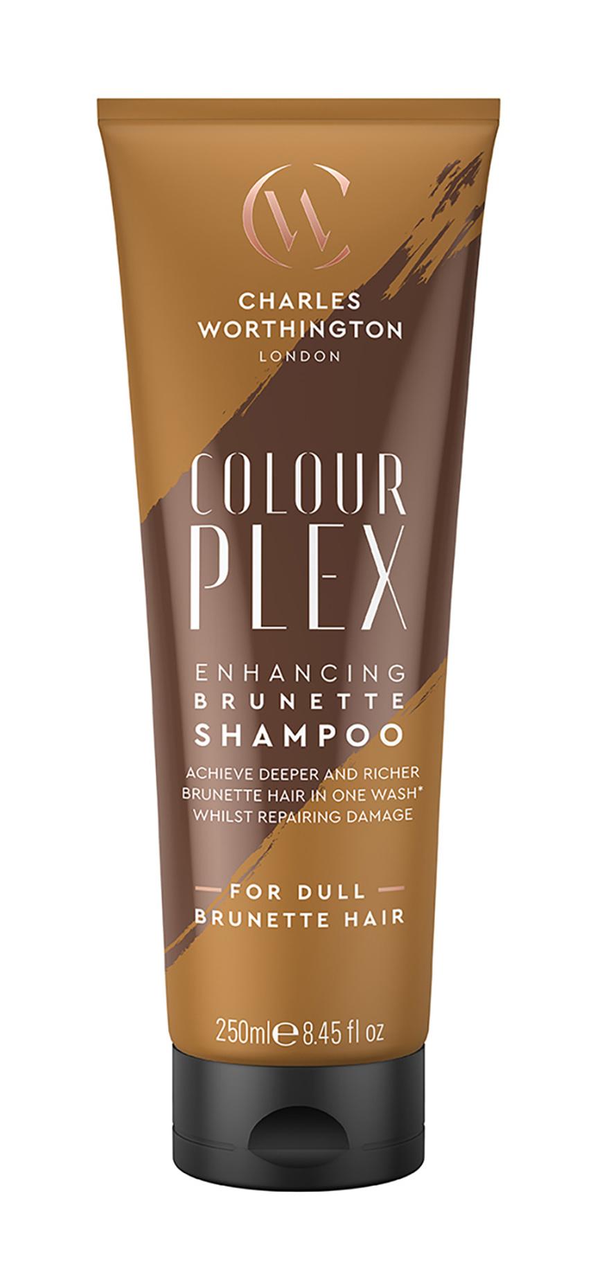 Купить Шампунь Charles Worthington Бессульфатный для темных волос 250 мл