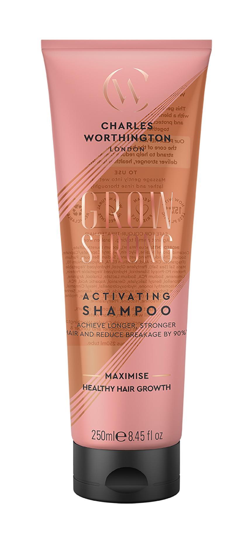 Купить Шампунь Charles Worthington Grow Strong, для активации роста волос 250
