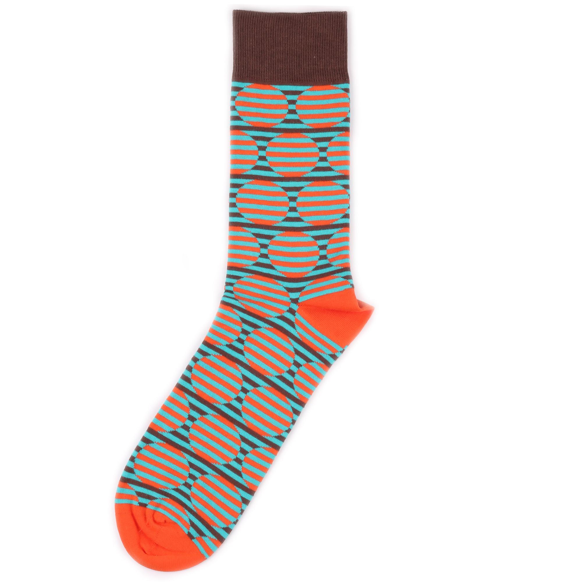 Носки унисекс Burning heels BHCircle разноцветные 42-46 RU