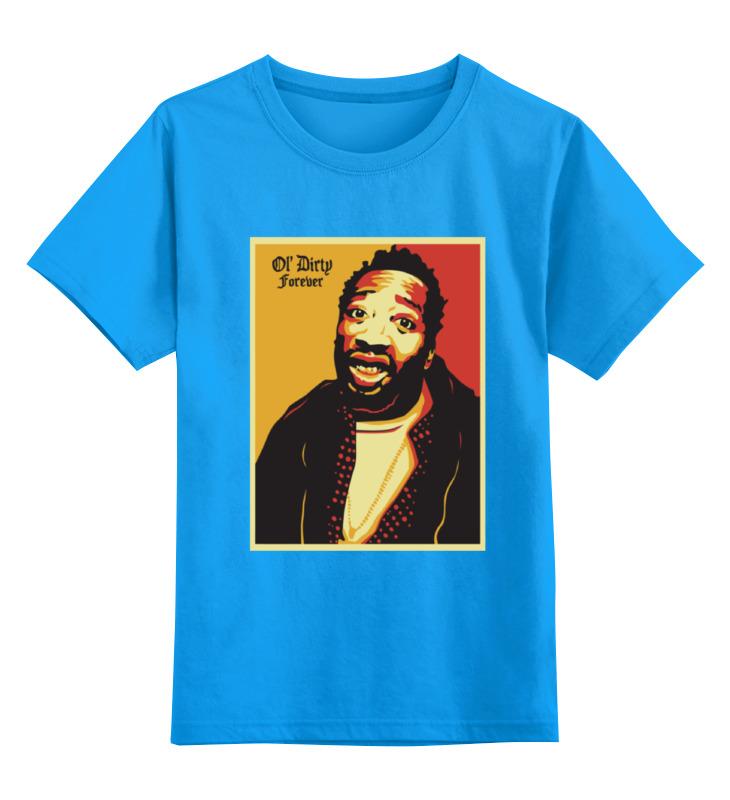 Детская футболка Printio Ol dirty bastard odb цв.голубой р.140 0000000781369 по цене 990