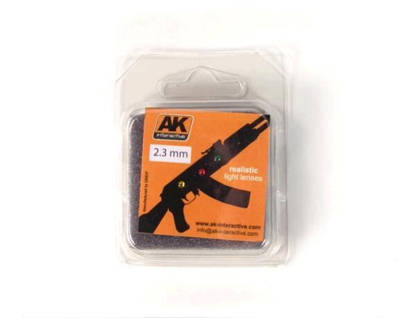 Купить AK Interactive Линзы прозрачные для самолетов LIGHTS FOR PLANES 2, 3 mm,