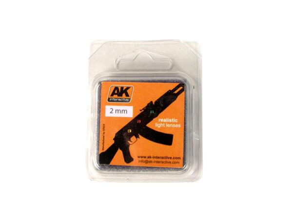 Купить AK Interactive Линзы прозрачные для самолетов LIGHTS FOR PLANES 2mm,