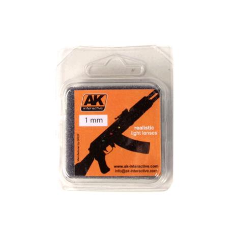 Купить AK Interactive Линзы прозрачные для самолетов LIGHTS FOR PLANES 1mm,