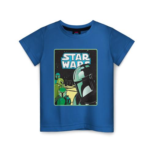 Детская футболка ВсеМайки The Mandalorian, размер 104 VseMayki.ru
