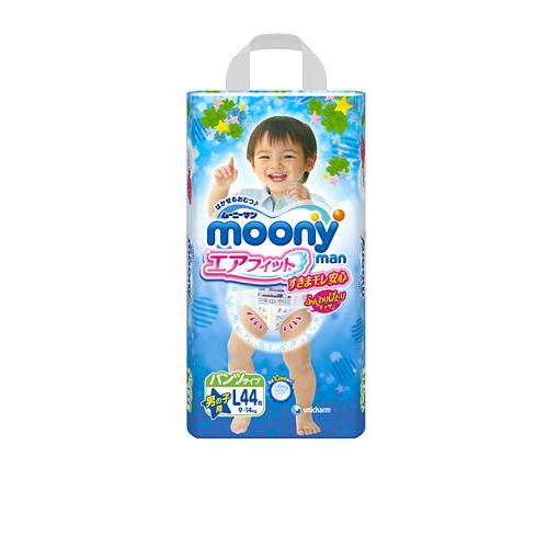 Трусики подгузники Moony Air Fit для мальчиков