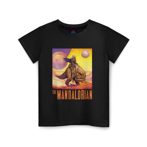Детская футболка ВсеМайки The Mandalorian, размер 98 VseMayki.ru
