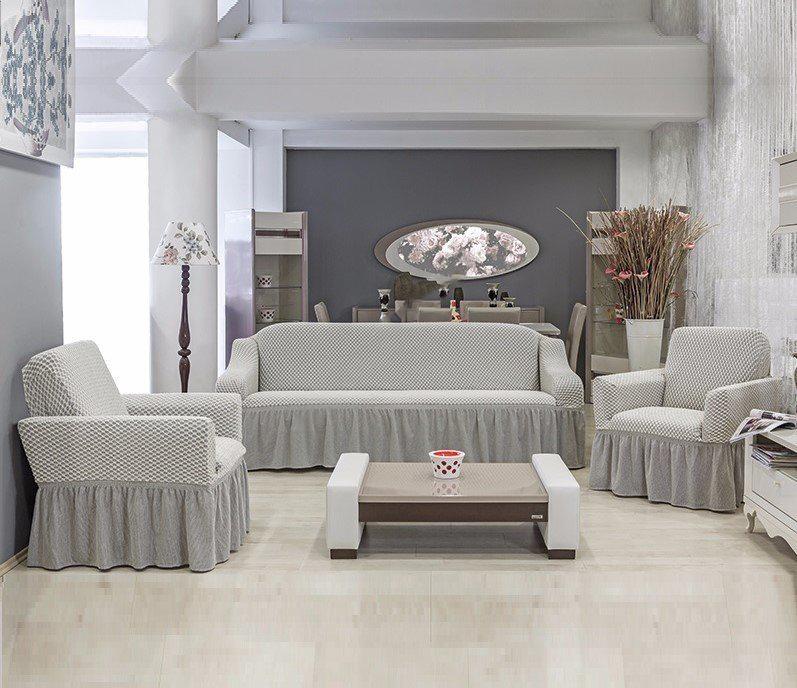 Набор чехлов 3 х местный диван+2 кресла