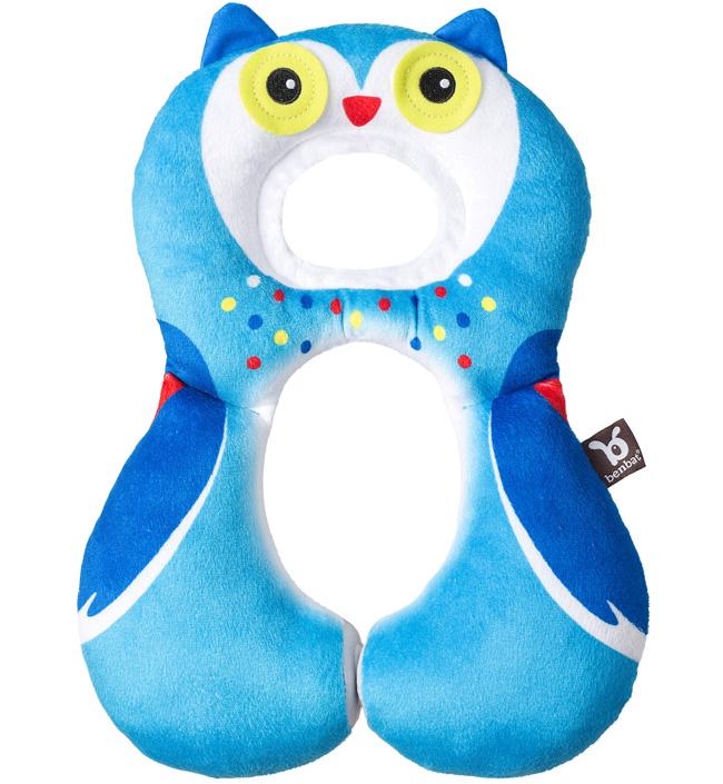 Купить Benbat Дорожная подушка Benbat Travel Friends для детей от 1 до 4 лет сова,