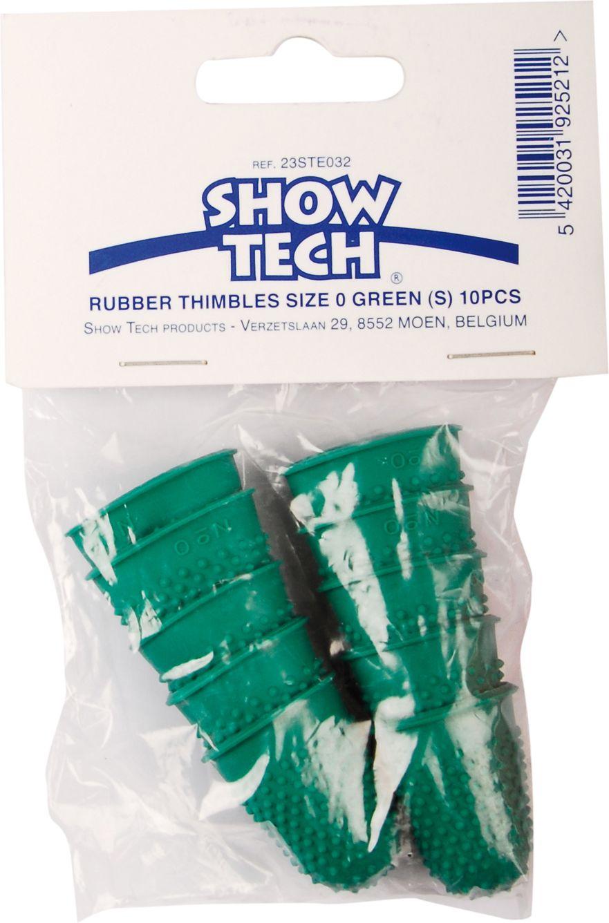 Набор напальчников для тримминга Show Tech Rubber