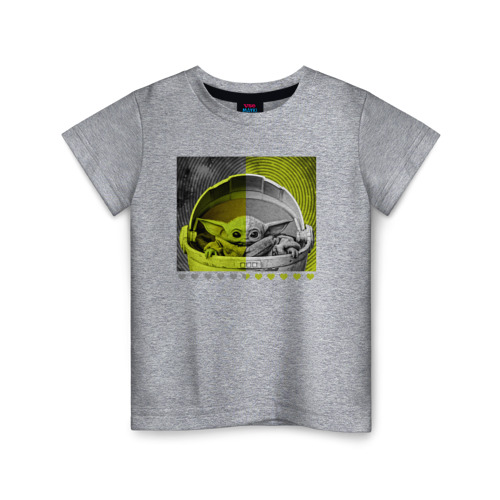 Детская футболка ВсеМайки Child Yoda, размер 164 VseMayki.ru