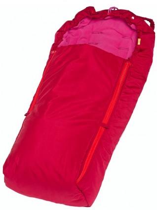 Купить Конверт-мешок для детской коляски Чудо-Чадо Флисовый вишневый, Конверты в коляску