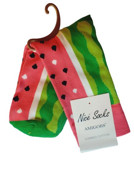 Носки женские Nice Sokcs красные 36-41