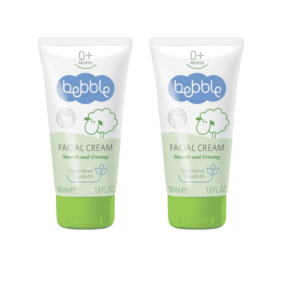 Крем для лица Bebble Facial Cream, 2x50