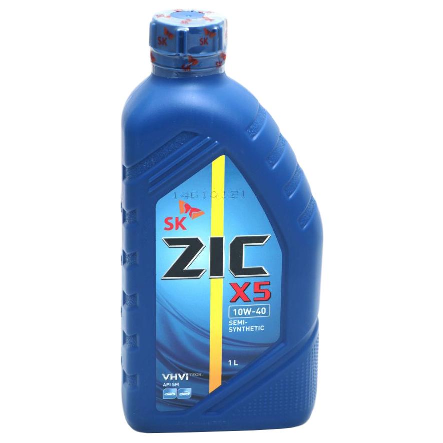 Моторное масло Zic Х5 10W-40 1л Х5 10W-40 1л