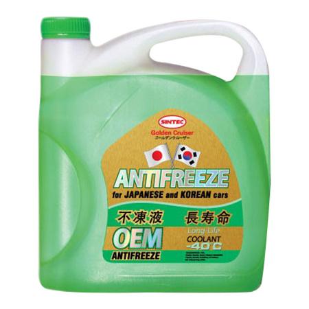 Антифриз Sintec Зеленый Готовый антифриз 5кг 990455 фото