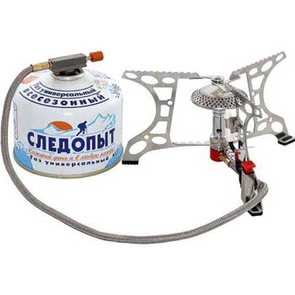 Плита туристическая портативная газовая Следопыт Говорящий Огонь PF-GSP-H04 от Сибирский Следопыт