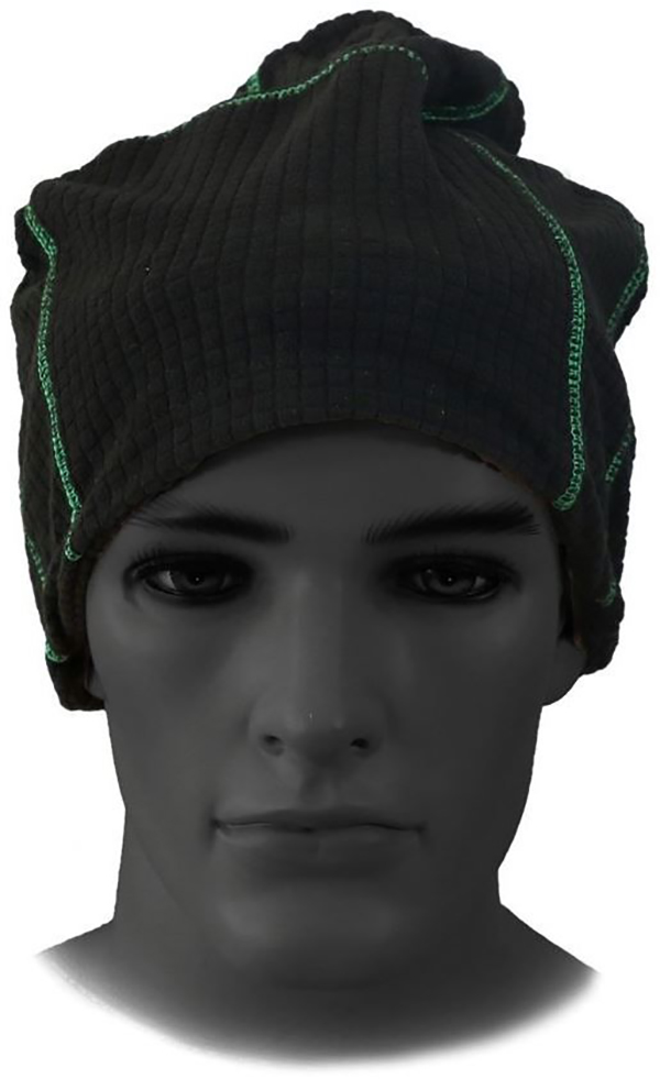 Шапка-шарф зимняя флисовая Элементаль Ш-008(черный)