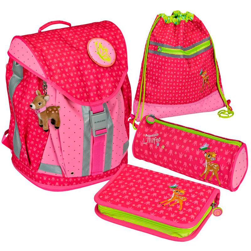 Рюкзак детский Spiegelburg Prinzessin Lillifee Flex Style с наполнением
