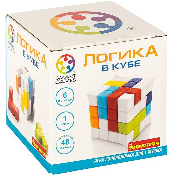 Купить ВВ4679, Логическая игра Bondibon Логика в кубе,