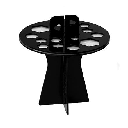 Купить Подставка-органайзер для сушки кистей IRISK, 16 ячеек, черная