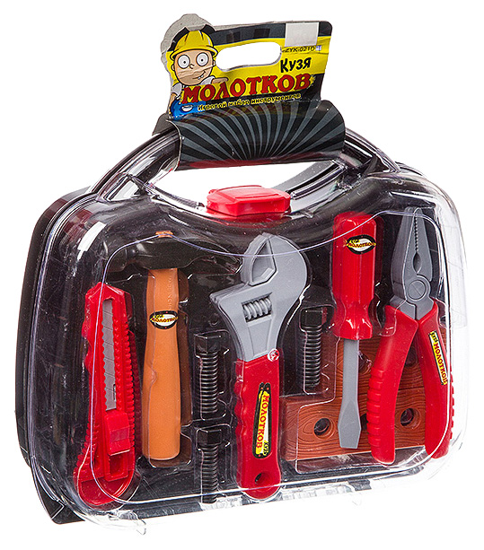 Набор инструментов Zhorya Кузя Молотков в чемодане