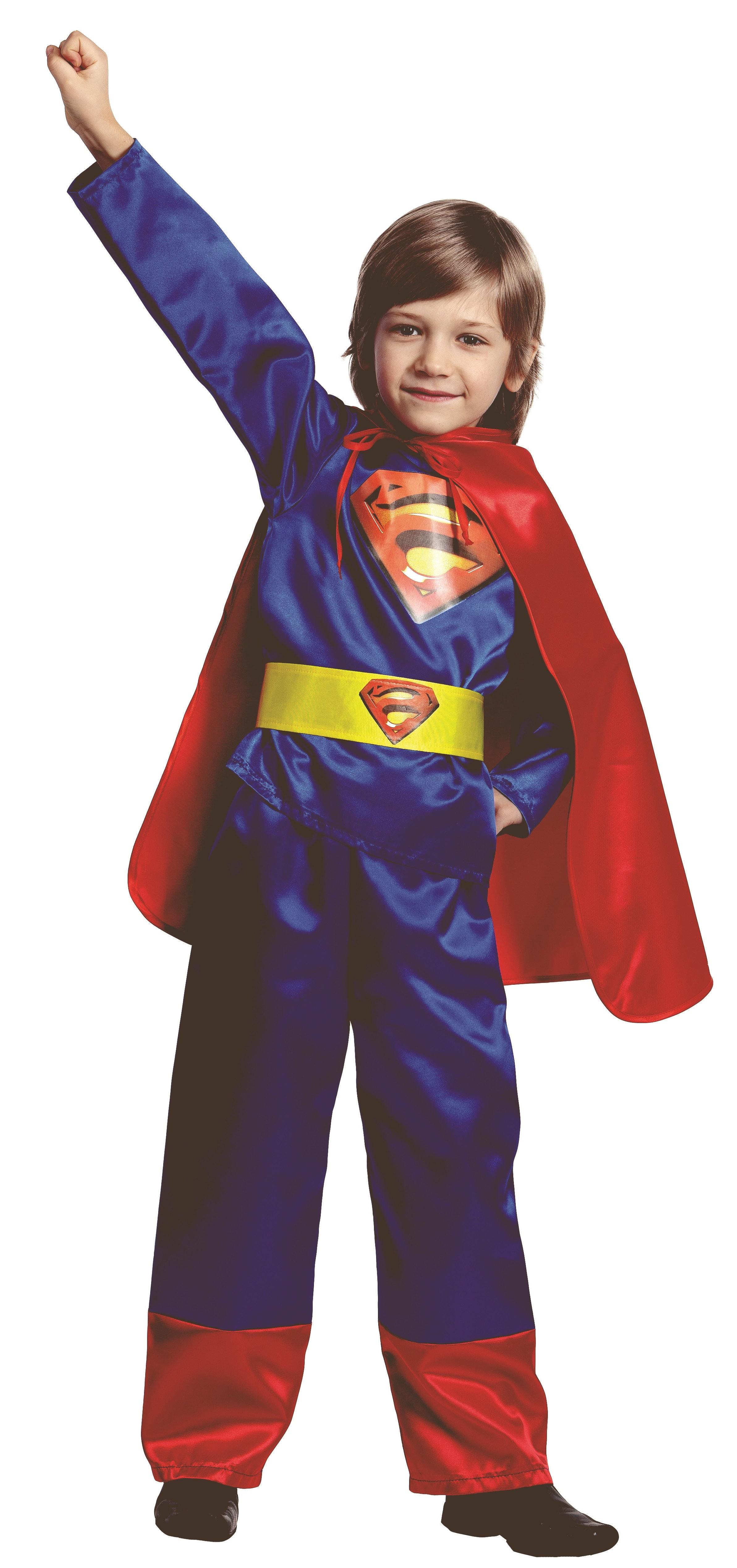 Купить 8028, Костюм Батик Супермен (Атлас) Детский 40 (158 см),
