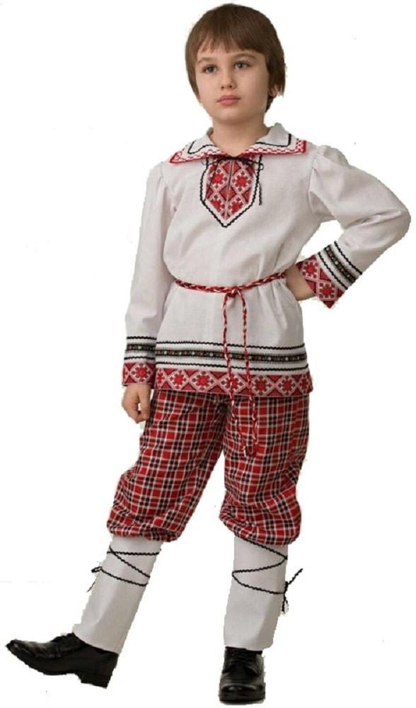 Купить 5601, Костюм Батик Национальный С Портянками Детский 30 (116 см),