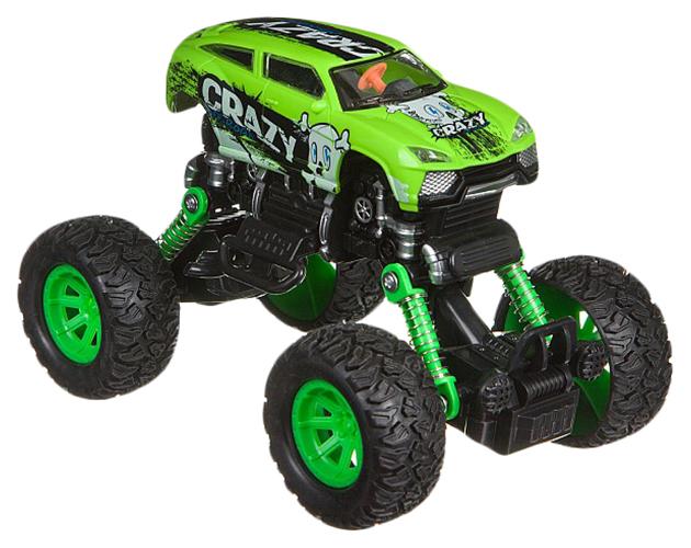 Купить Машинка инерционная Bondibon Парк техники Джип зеленый ВВ4579,