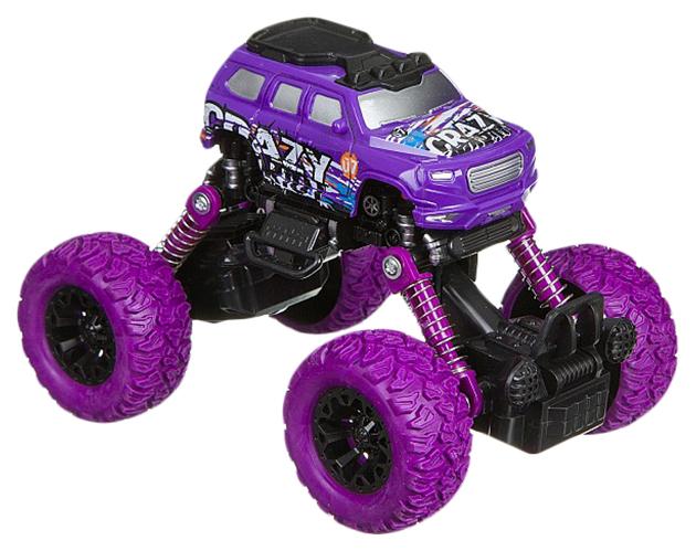 Купить Инерционная машинка Bondibon Парк техники Джип ВВ4572 фиолетовый,