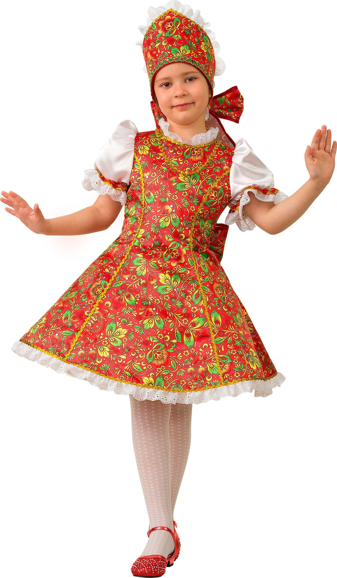 Купить 5201, Костюм Батик Народный Марьюшка Детский 30 (116 см),