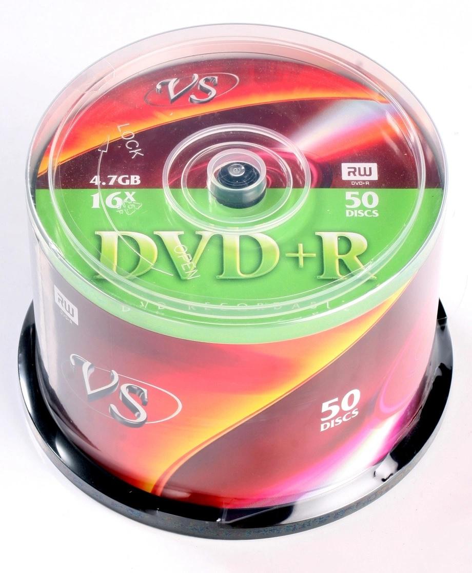 Диск DVD+R VS 4.7Gb, 16x
