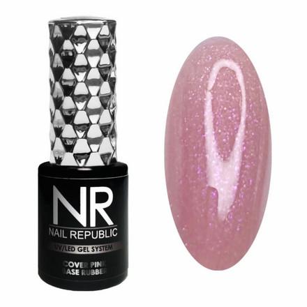 Купить Камуфлирующая база Nail Republic Rubber №15