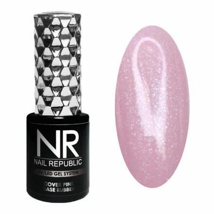 Купить Камуфлирующая база Nail Republic Rubber №14