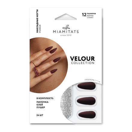 Купить Накладные ногти Miami Tattoos Power Velour