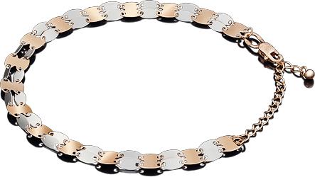 Браслет женский Платина 05-0569-00-000-1111-48 р.21